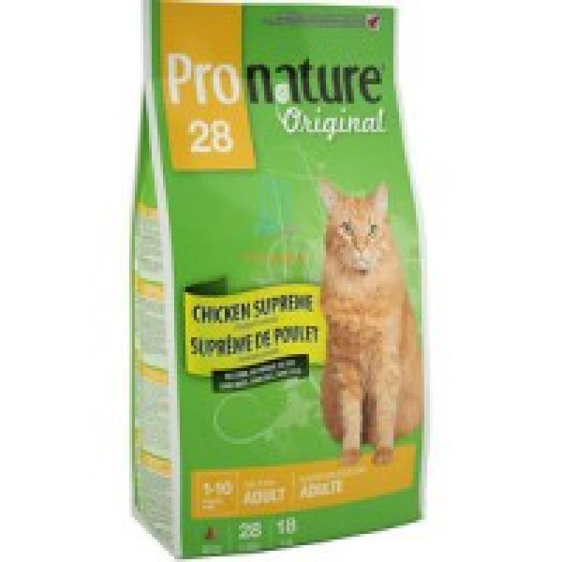Pronature Original 28 Корм для взрослых кошек 5,44 кг