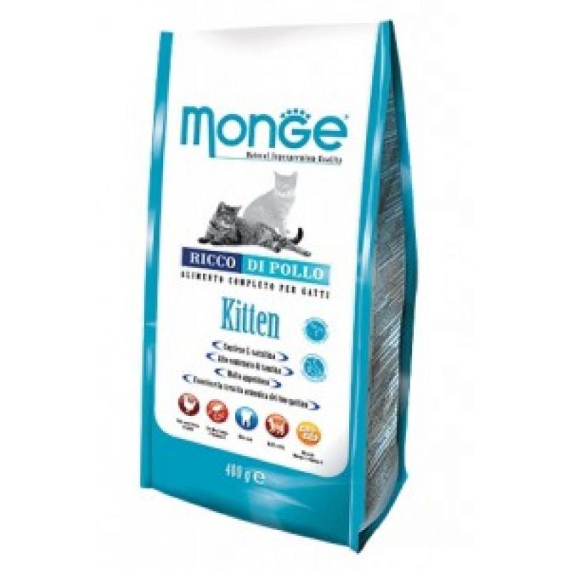 Monge Kitten Сухой корм для котят и беременных кошек 400 г