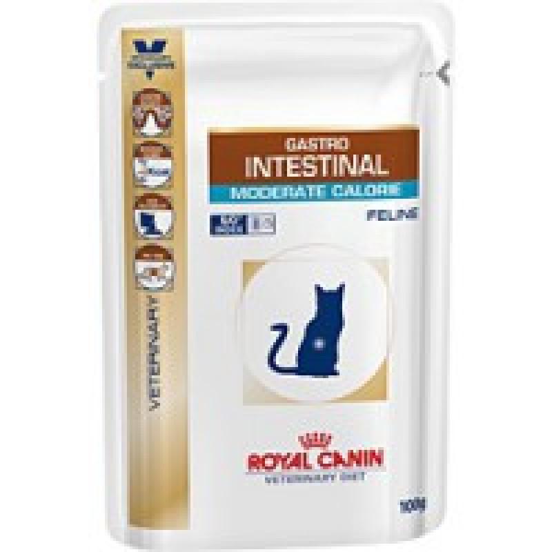 RC Gastro Intestinal Moderate Calorie Диета для кошек при нарушениях пищеварения