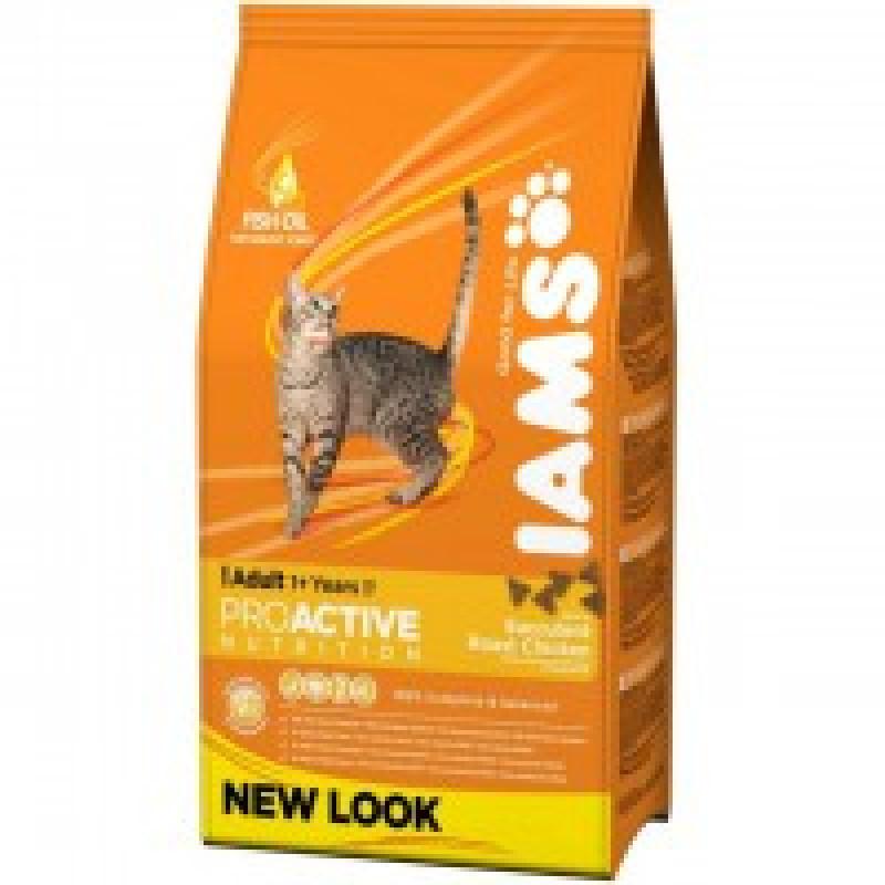 Iams Adult with Chicken Корм для взрослых кошек с курицей 3 кг