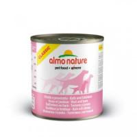 Almo Nature Classic Консервы для собак с телятиной и ветчиной