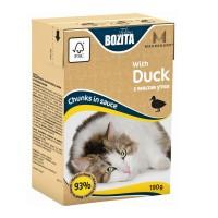 Bozita Mini Duck Кусочки в соусе с мясом утки для кошек