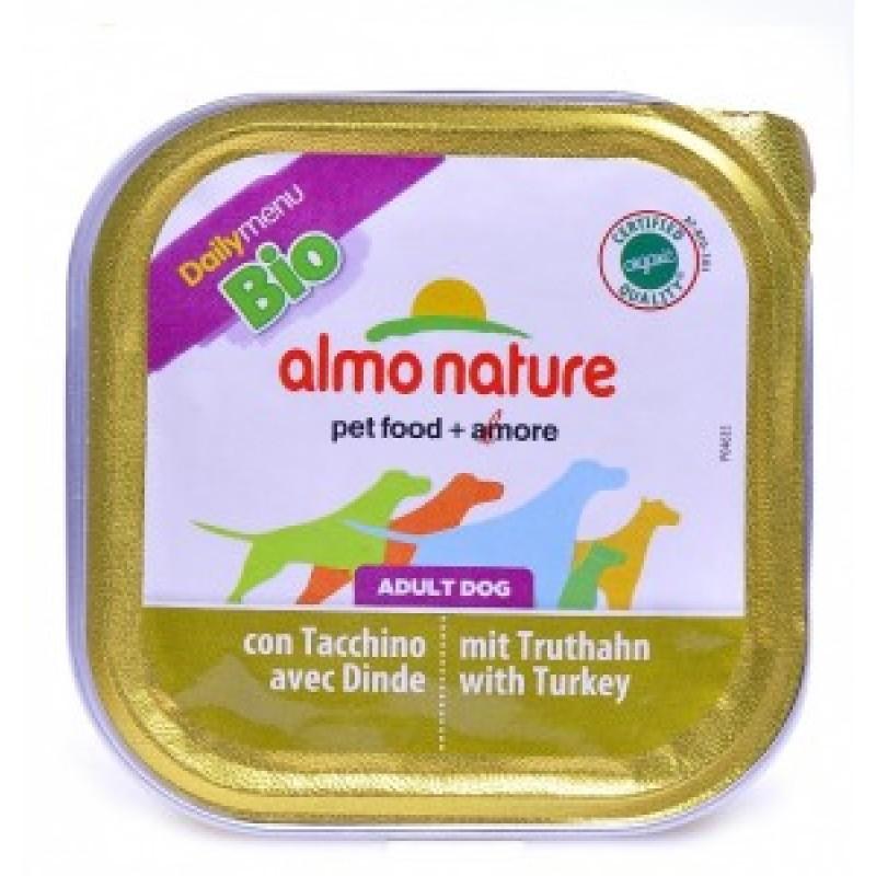 Almo Nature Dailymenu Паштет для собак с индейка, ламистер