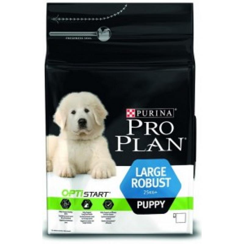 Pro Plan Large Robust Puppy Корм для щенков крупных пород, курица с рисом