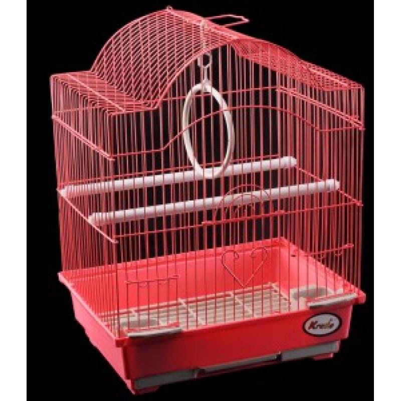 KREDO Клетка для птиц, цветная, фигурная