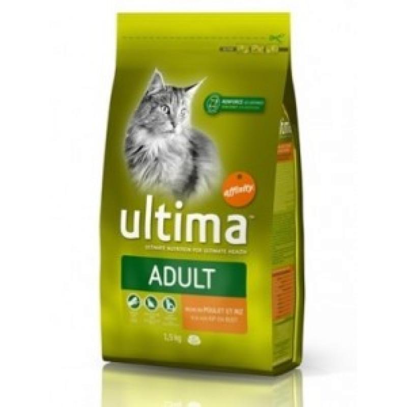 Ultima Urinary Trakt  Сухой корм для кошек, прфилактика МКБ, с Курицей 350 г