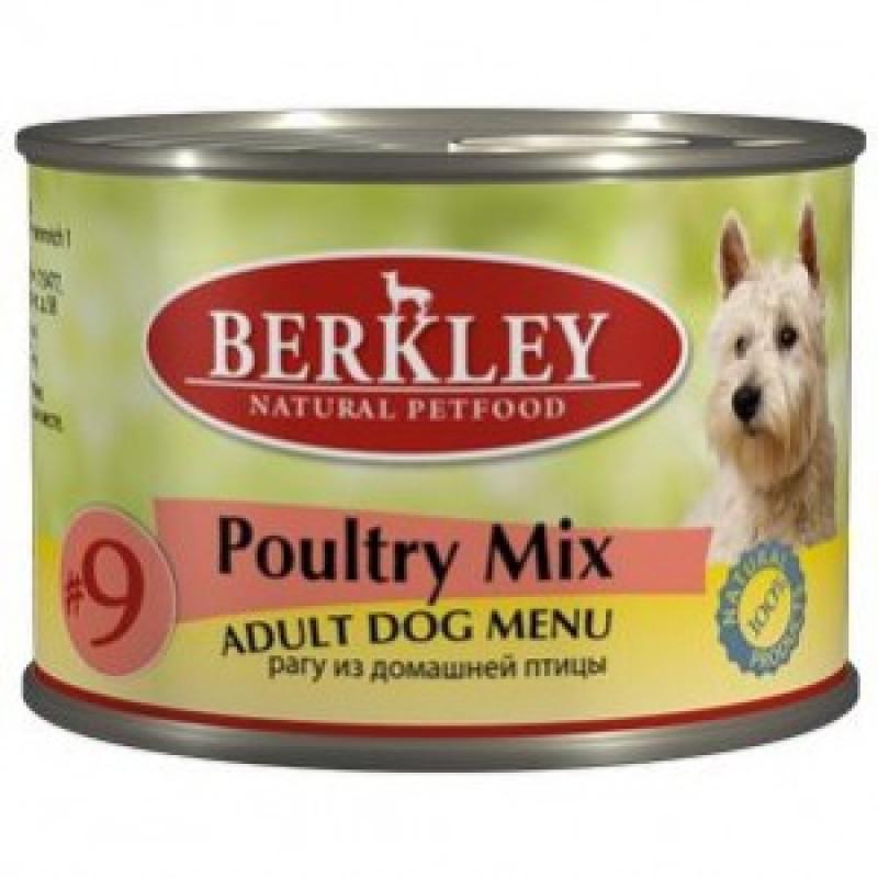 Беркли Консервы для собак Рагу из домашней птицы
