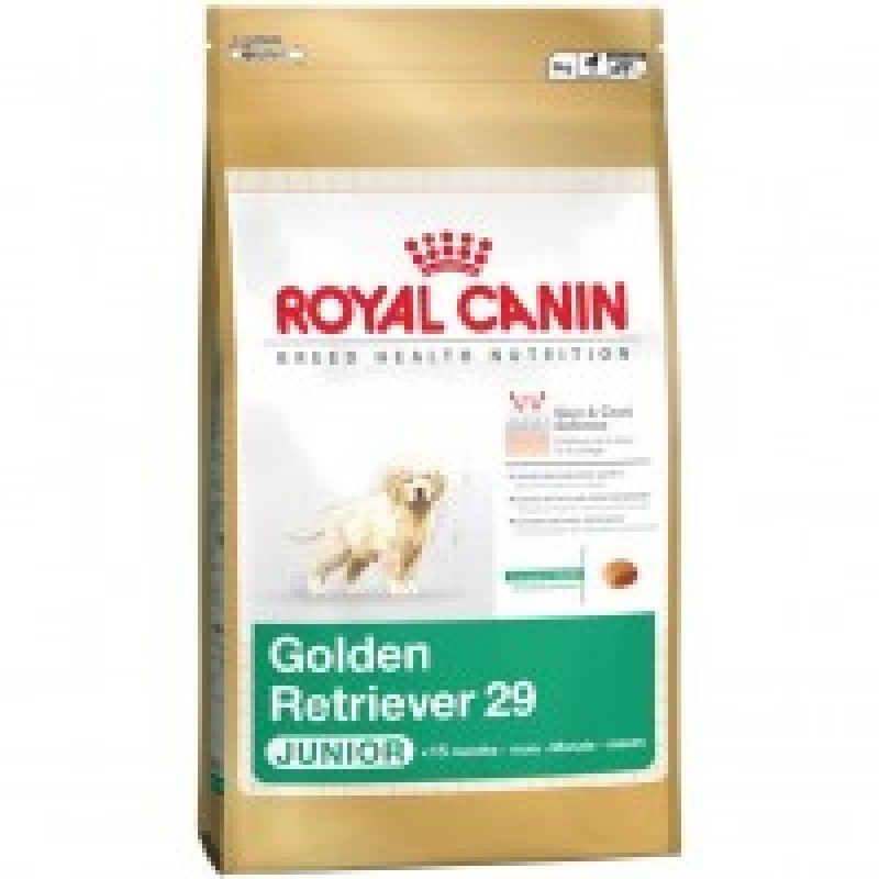 Royal Canin Golden Retriever 29 Junior Корм для щенков породы Голден ретривер до 15 месяцев