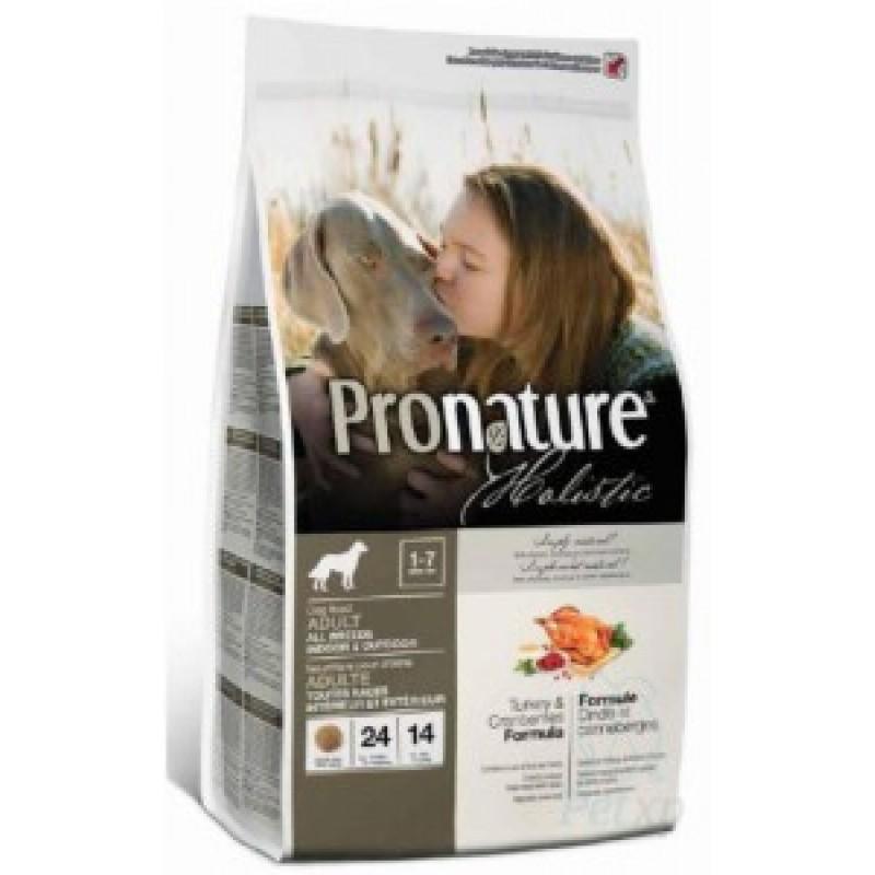 Pronature Holistic Сухой корм для собак Индейка с клюквой