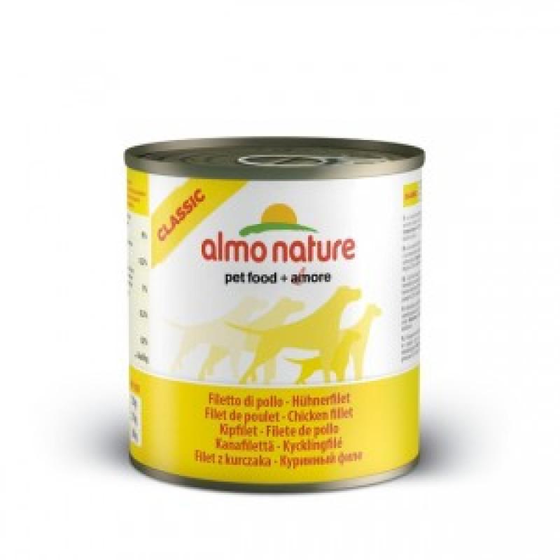 Almo Nature Classic Консервы для собак с куриным филе