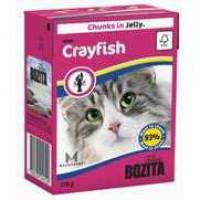Bozita Crayfish Cat Кусочки в желе с лангустом для кошек