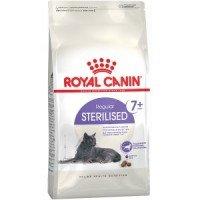Royal Canin Sterilised +7 Корм для кастрированных котов и стерилизованных кошек в возрасте от 7 до 12 лет