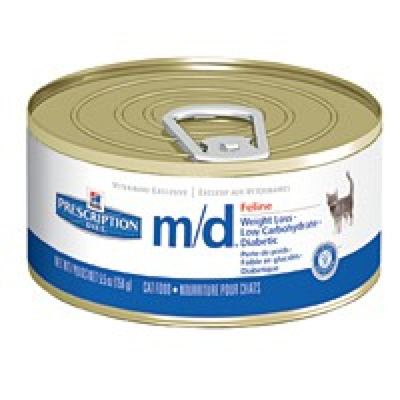 Hills Feline M|D Консервы для кошек, при сахарном диабете и избыточном весе