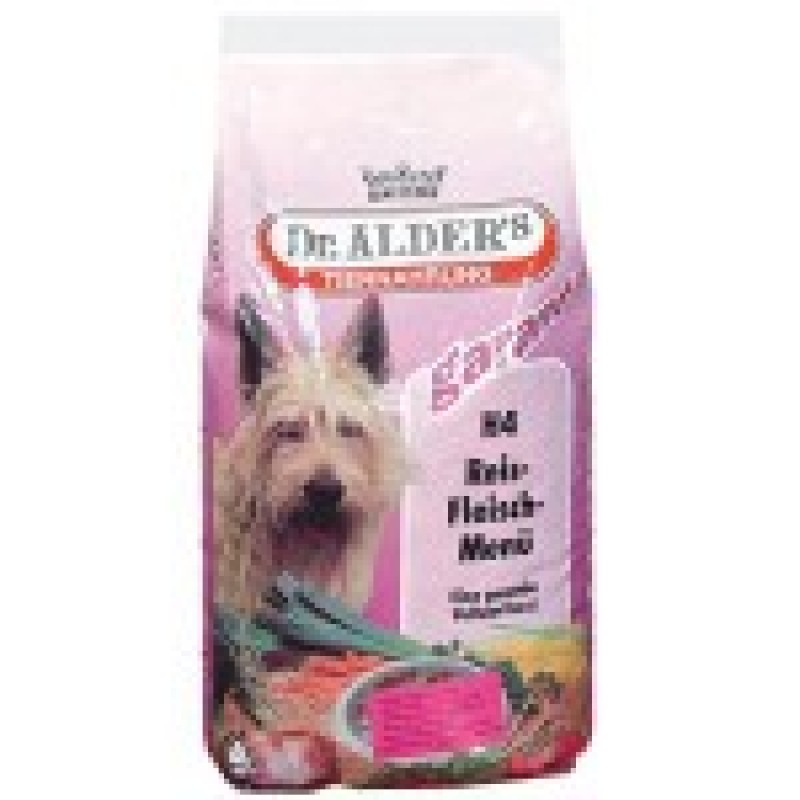 Dr.Alders H4 Рисо-Мясное Меню Сухой корм для активных собак, Говядина с рисом