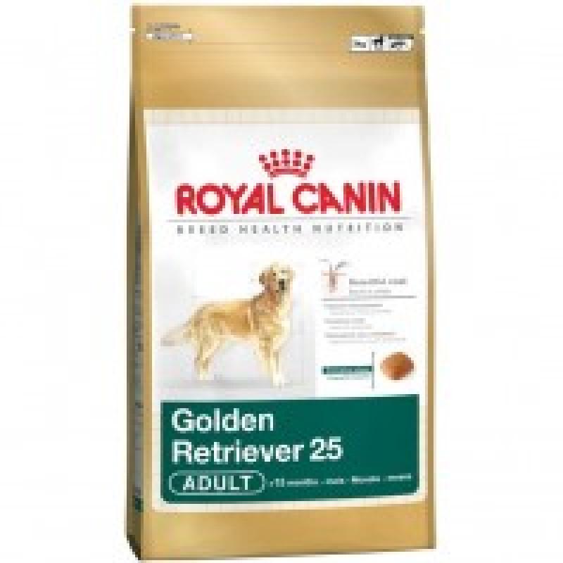 Royal Canin Golden Retriever 25 Adult Корм для собак породы Голден ретривер старше 15 месяцев 12 кг