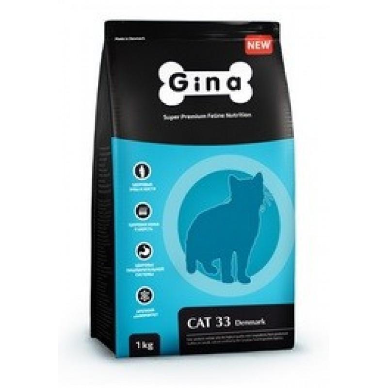 Gina Denmark Cat 33 Корм для выставочных и активных кошек