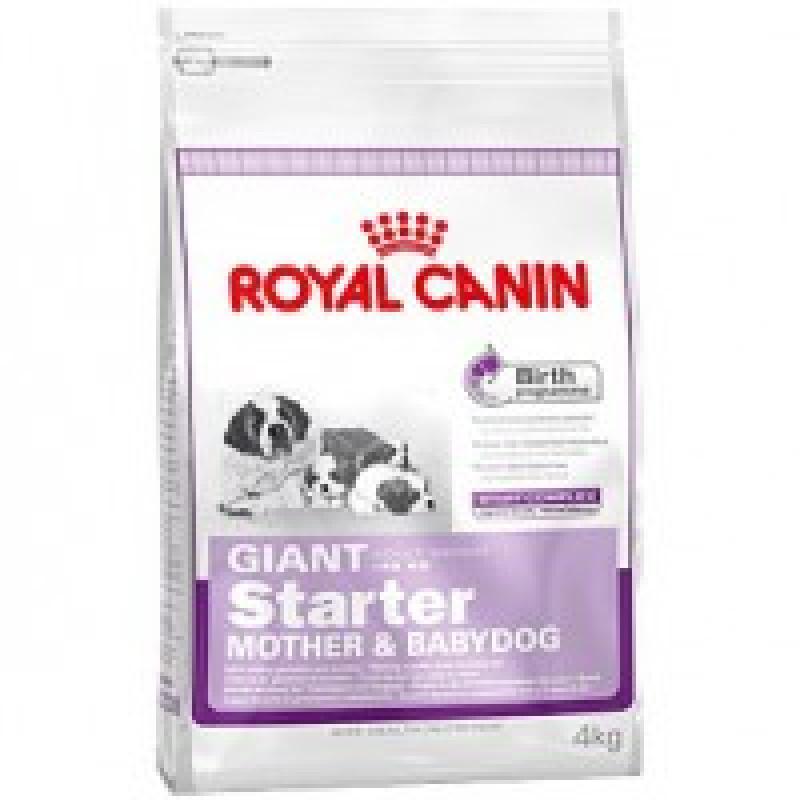 Royal Canin Giant Starter Корм для щенков до 2-х месяцев, беременных и кормящих сук 15кг