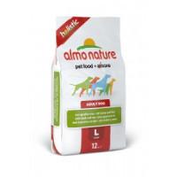 Almo Nature Holistic Сухой корм для взрослых собак крупных пород с ягненком 12кг