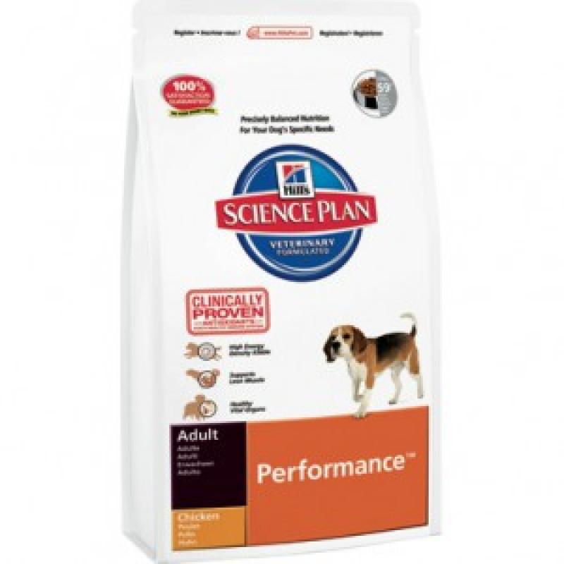 Hill`s Adult Performance Корм для взрослых собак активных пород 12КГ