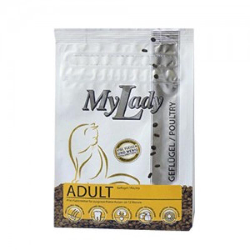 Dr.Alders My Lady Premium Adult Сухой корм для кошек от 12 месяцев, Птица и печень 400 г