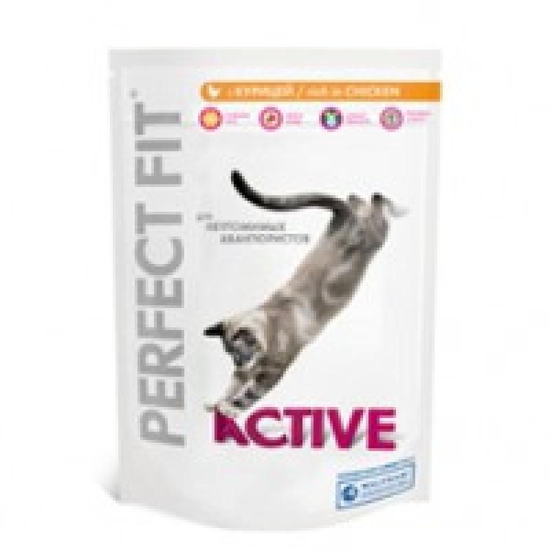 Perfect Fit Active Курица Корм для активных кошек с курицей 650 г