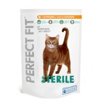 Perfect Fit Sterile Сухой корм для домашних кошек после кастрации или стерилизации 1,2 кг