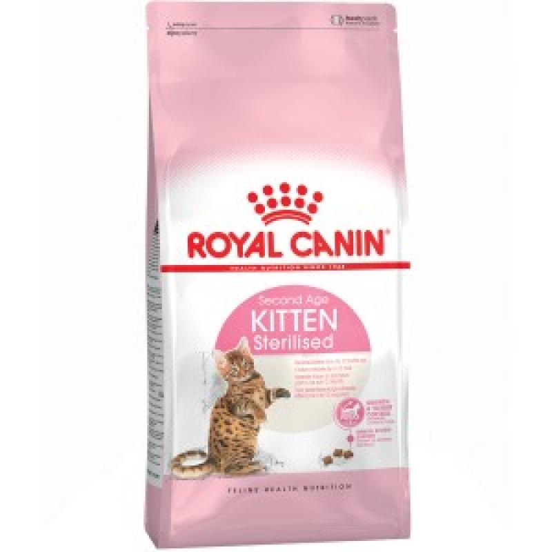 Royal Canin Kitten Sterilised Корм для стерилизованных котят в возрасте до 12 месяцев