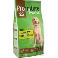 Pronature Original 26 Корм для взрослых собак Крупных пород