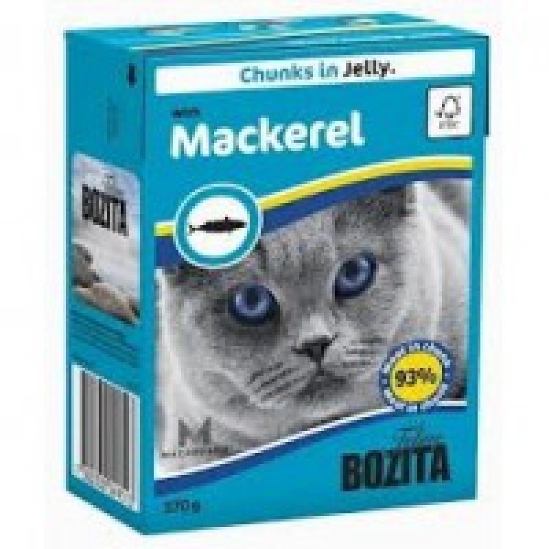 Bozita Mackerel Cat Кусочки в желе со скумбрией для кошек