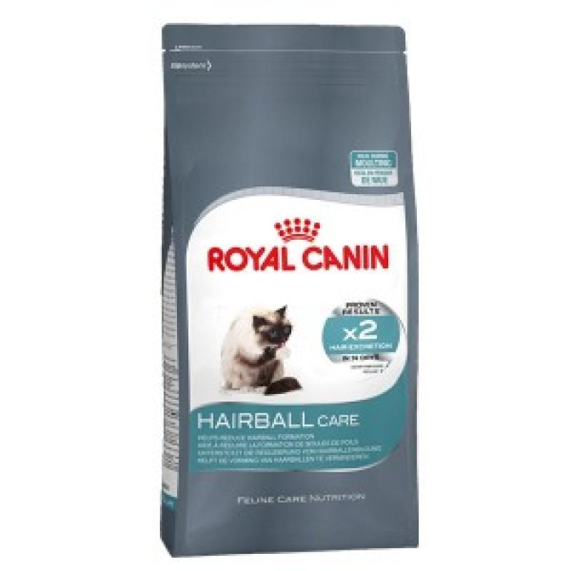 Royal Canin Hairball Care Корм для кошек при недостаточном выведении волосяных комочков из желудочно-кишечного тракта