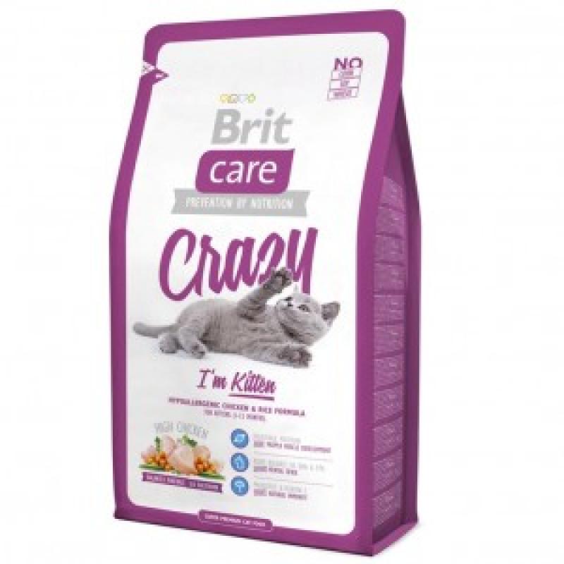 Brit Care Cat Crazzy Kitten д/Котят, беременных и кормящих кошек