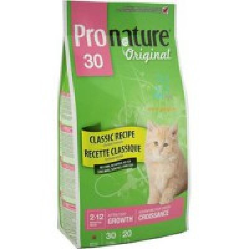 Pronature Original 30 Корм для котят 2,72 кг