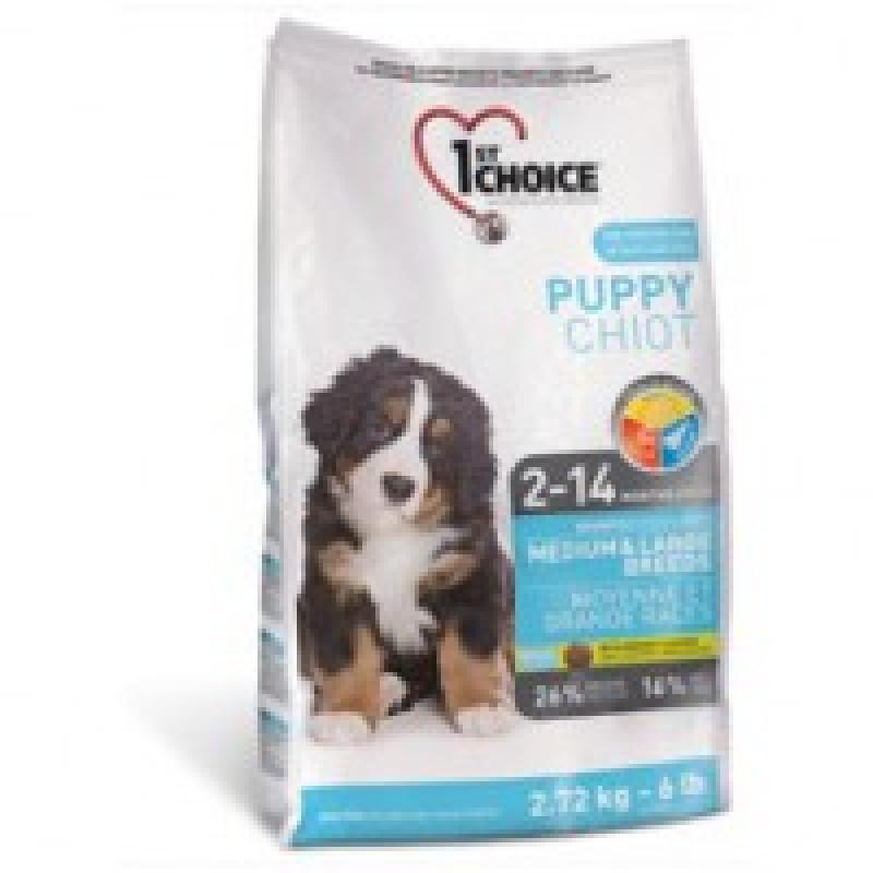 1st Choice Puppy Medium Large Breeds Корм для щенков средних и крупных пород