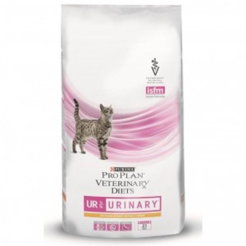 Purina Veterinary Diets UR Корм для кошек при мочекаменной болезни 1.5 кг