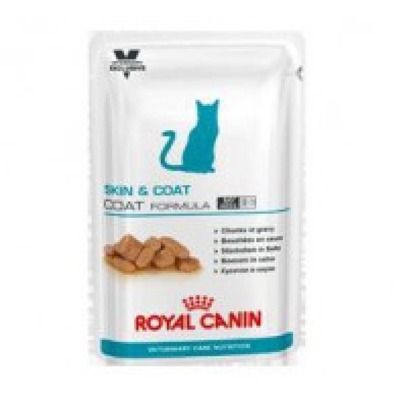 RC Skin & Coat Formula (ВКН Скин энд Коат Коат Формула) для длинношерстных кастрированных котов и кошек 100гр