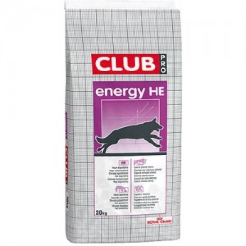 Royal Canin Club Energy HE Высококалорийный корм для взрослых собак 20кг