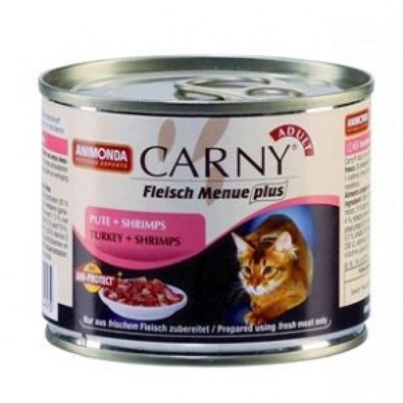 Animonda Garny Adult Консервы для кошек с индейкой и креветками