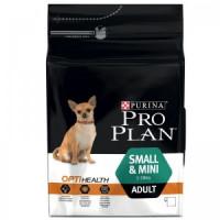 Pro Plan Small&Mini Adult Корм для взрослых собак мелких и карликовых пород, курица 7 кг