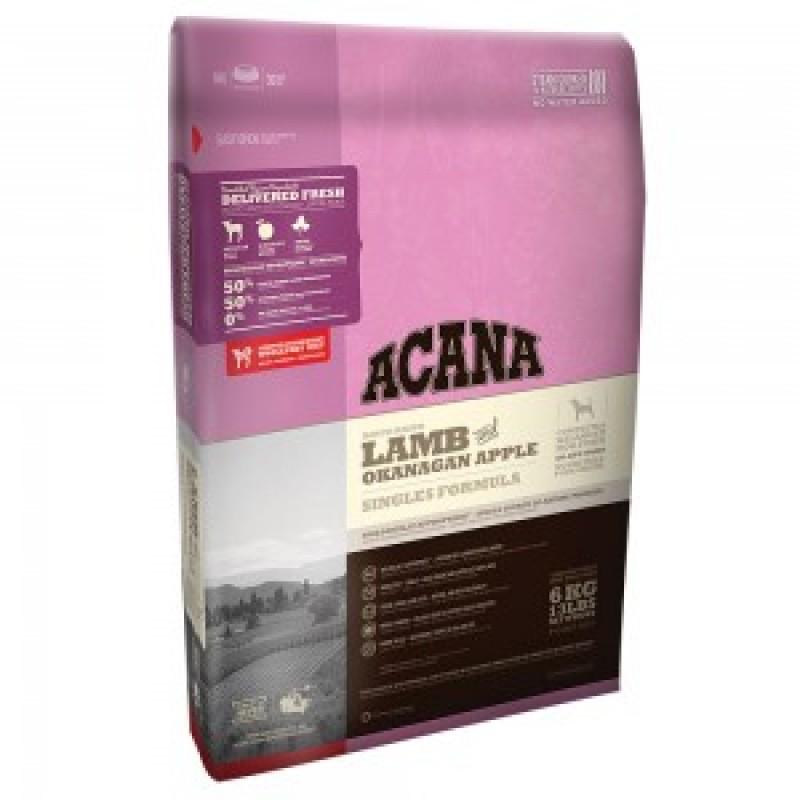 Acana Lamb Apple Formula Корм для собак всех пород и возрастов (Ягненок, Яблоко)