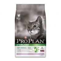Pro Plan Sterilized Turkey Корм сухой для стерилизованных и кастрированных кошек индейка 3кг