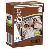 Bozita Elk Cat Кусочки в желе с мясом лося для кошек