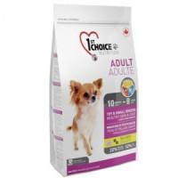 1st Choice Adult Toy & Small Breeds Корм для собак миниатюрных пород, ягненок и рыба