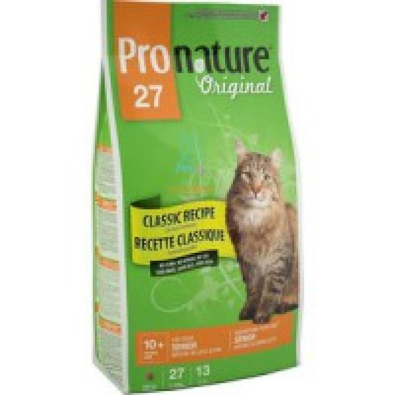 Pronature Original 27 Облегченный корм для пожилых кошек 2,72 кг