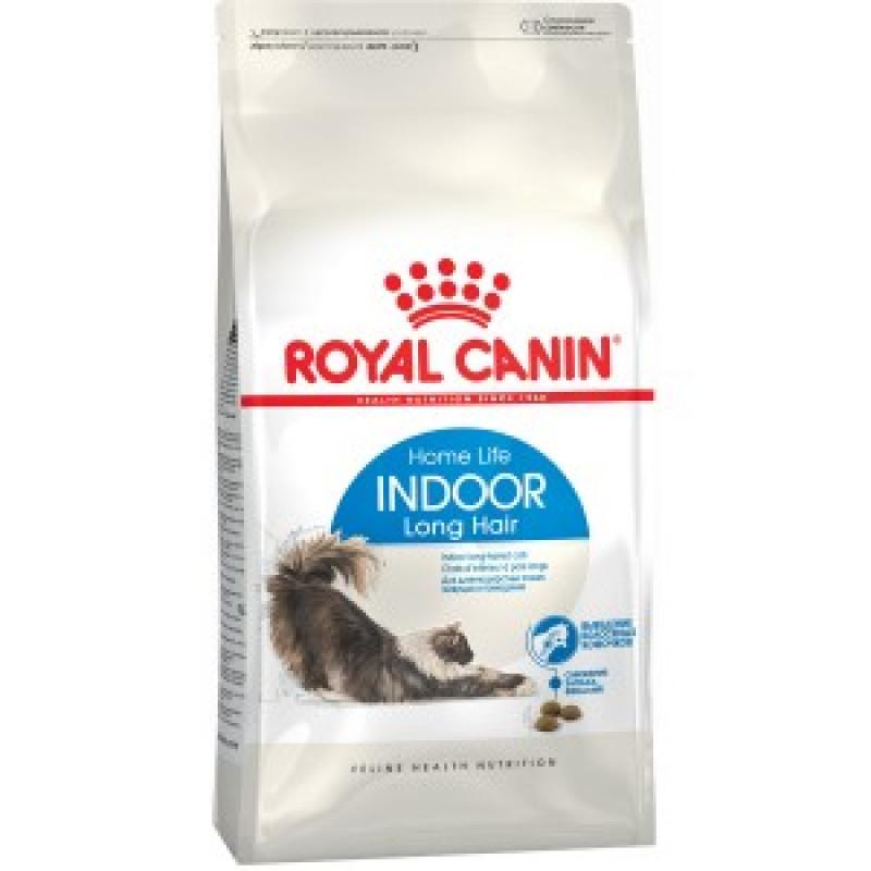 Royal Canin Indoor Long Hair 35 Корм для длинношерстных кошек от 1 до 10 лет