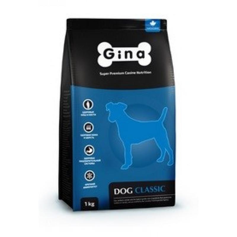 Gina Denmark Dog Classic Комплексный сбалансированный корм для взрослых собак