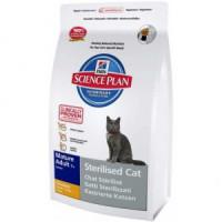 Hill*s Science Plan Mature Adult Sterilised  Cat Сухой корм для кастрированных котов и кошек старше 7 лет