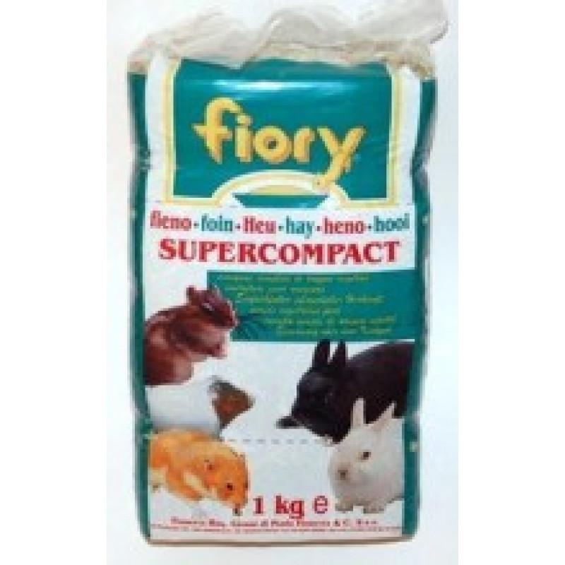 Сено Fiory Прессованное сено для грызунов