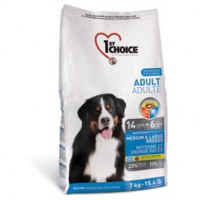 1st Choice Adult Medium Large Breeds Корм для собак средних и крупных пород, курица