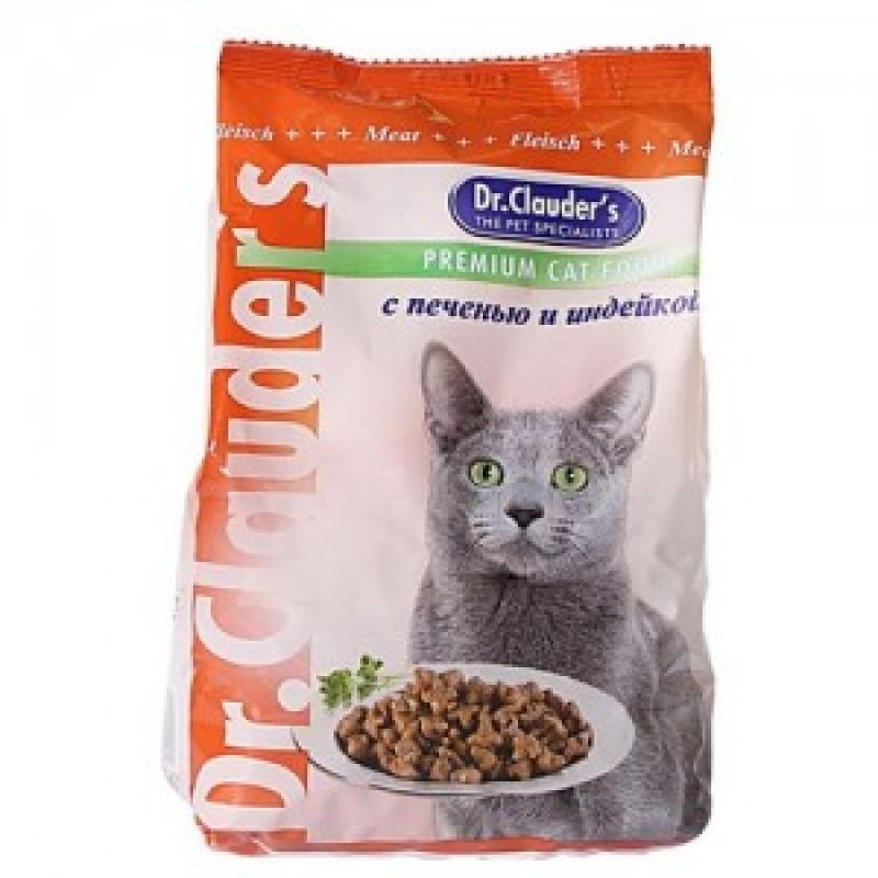 DrClauders Печень с Индейкой Корм для кошек, печень с индейкой