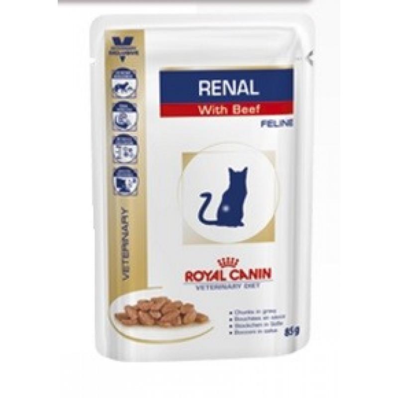 RC Renal (говядина) Диета для кошек при хронической почечной недостаточности